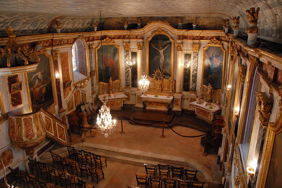 Église Lachapelle Vue d'en Haut