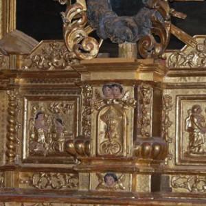 Église Lachapelle en Lomagne Retable