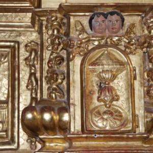 Église Lachapelle en Lomagne Retable C