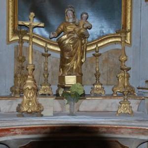 Église Lachapelle en Lomagne Vierge à l'Enfant